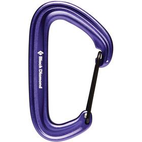 Black Diamond Litewire Carabiner purple